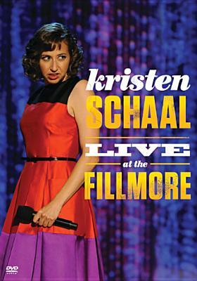 KRISTEN SCHAAL:LIVE AT THE FILLMORE BY SCHAAL,KRISTEN (DVD)
